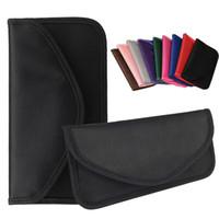 fallabdeckungen gps großhandel-Universal-Anti-Strahlung-Tasche, Anti-Tracking-Tasche Anti-Spionage-GPS RFID-Tasche Brieftasche Handy-Tasche Tasche für iPhone-Karten