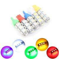 Wholesale Number Indicator - 1X 12V T10 W5W Indicators LED 13 5050 Headlight foglight Number Plate light