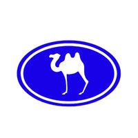 oval decals car - Automobile Motorcycle Products Vinyl Decal Car Stickers Glass Stickers Scratches Sticker Jdm Oval Camel Camels Graphic