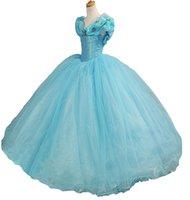 kelebek çiçekli kız toptan satış-Prenses Kız Kat Uzunluk Payetli Abiye Çiçekler Kelebek Pageant Elbiseler Muhteşem Çocuklar Kostüm Abiye