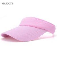 Wholesale Silk Head Caps - Wholesale- MASCOTT Breathable mesh cotton baseball cap Men's and women's empty head leisure snapback hat accessories