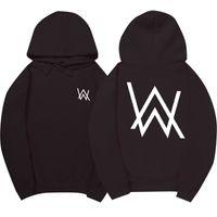 Wholesale Hot Dj Music - Wholesale- Hot Selling Electronic Music Fade DJ Alan Walker Same Hoodie Men & Women Full Sleeves Mens Sportsuits Cotton Sweatshirt Men