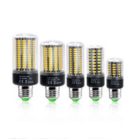 85-265V black corn - 5736 SMD LED Corn Bulb Lights No Flicker Constant Current Lamp Bulb E27 E14 B22 W W W W W W V Chandelier Lighting LED Bulbs