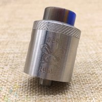 Wholesale High Dead - Vaporizer Dead Rabbit RDA Tank Atomizer Support Both Single and Dual Wire Silver Black 2 Colors High quality Fit 510 Mods DHL Free