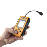Wholesale Sonar Fish Detector - New Fish Finder TL88 2017 Quality WaterProof Sonar Wireless Transducer 100M Depth Big LED Display VS Fish Finder Detectors