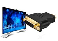 Wholesale Hdmi Transfer - hdmi to div 24 + 5 connector High-definition HD TV line interface Transfers between Conversion head for DHL