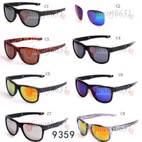 Wholesale cycling online - summer BRAND New Bicycle Glass MEN sunglasses sports to peak cycling sunglasses Sports spectacl fashion dazzle colour mirrors freeshipping