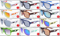 Wholesale coloured bicycle - summer newest style Only SUN glasses 12 colors sunglasses men Bicycle Glass NICE sports sunglasses Dazzle colour glasses A+++ free shipping