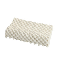 Wholesale Home Sleep Genuine Adult Cervical Vertebra Neck Rubber Single Memory Thailand Import Natural Latex Foam Pillow