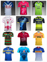 Wholesale Red Wine Rabbit - 17 18 Leeds Rhinos RAIDER Toulon Munster eels bulls South Sydney rabbit Thunder 6Eers Oakland Paris Jaguares bulldogs Leinster rugby jersey