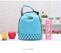 Wholesale Lunch Box Organizer - Outdoor Protable Ice Bags Oxford Hand Carry Thickened Cooler Bags 4 Colors Lunch Bag Food Thermal Organizer Bag Outdoor Box