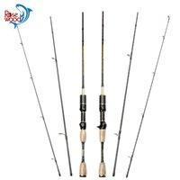 ROSEWOOD Super Light Lure Peso 0.8-5g Fibra di carbonio Baitcasting Rod Fishing Rod 1.8m Spinning Rod Fishing Ultra Light