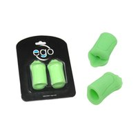 Wholesale Ego Tattoo - Wholesale-2pcs Pack Ego Green Silicone Non-Slip Gel Tattoo Machine Grip Cover Maquillage Permanent Makeup 4 Colors Available