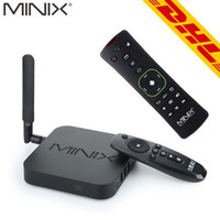 Wholesale Minix 16gb - 5pc MINIX NEO U1 + A2 Lite Wireless Keyboard Android TV Box Amlogic S905 Quad Core 2G 16G 2.4 5GHz WiFi H.265 HEVC 4K Ultra HD Smart TV Box