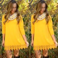 Wholesale Blouse Size 18 - 2016 Women Spring Summer Fashion Elegant Lace Blouse Shirt Long Sleeve Sexy Tops Plus Size Women Clothing 18 Colors S-XL