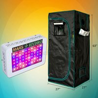 Wholesale Grown Tent - Mars Hydro 300W Led Grow Light Veg Flower Full Spectrum Lamp Panel+70x70x160 Grow Tent,Grow Box