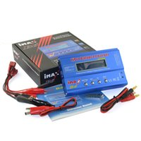 Wholesale Rc Battery Charger Nimh - iMAX B6 80W 6A Digital RC Battery Balance Charger Discharger 50W 5A Optional for 1-6s Lipo NiMh Li-ion Ni-Cd Battery Charging