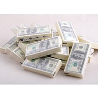 Wholesale Dollar Tissue Paper - Wholesale- 100 Dollar Toilet Tissue Paper Napkin Printing Natural Comfort Funny Personality Party Popular Wipe