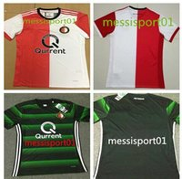 Wholesale NEW Top Quality Soccer Jersey Feyenoord Football Shirts Kuyt Lex Immers Simon Kramer Home Away maillot de foot Feyenoord