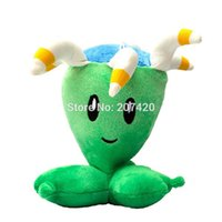 Grossiste-6.5inch Plant Vs Zombies série 2 Bloomerang Plush Toy Doll, 1pcs / pack