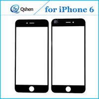 Wholesale Iphone Front Cover Replacement - For iPhone 6 Front Outer Glass Lens Touch Panel Cover Replacement for iPhone 5 6 Plus 6S 6S Plus