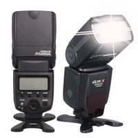 Wholesale pentax camera flash - Viltrox JY680A On-camera Flash GN33 Speedlite Flash Light with LCD Screen and Backlight for Canon Nikon Sony Pentax Cameras