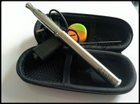 Wholesale Ego Variable Twist Set - best pen for wax smoking kit variable voltage 1100mah twist ego evod dab pen vaporizer ceramic rod coil heater quartz coil smoke set