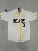Wholesale News Free - Mens Bad News Bears #12 Tanner Boyle #3 Kelly Leak Baseball Jersey Stitched Numbers S-XXXL Free Shipping