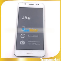 Wholesale Dhl Cheap Cell Phone - J57 Phones MTk6572 Dual Core Unlock Phone 5.0Inch 4GB ROM Cheap Cell Phone Dual Camera Wifi Sealed box Dual Camera Free DHl with Sealed box