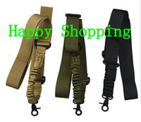 Ajustable Tactical One Single Bungee Strap Safety Nylon Belt Rope with Metal Hook