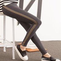 Wholesale Maternity Skinny Leggings - The spring and autumn winter new maternity Korean fashion all-match women abdominal stretch pants Leggings skinny for pregnant women16122