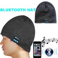 Wholesale Boxing Beanie - Great Christmas Gift Colorful Bluetooth Music Soft Warm Hat With Stereo Headset Speaker With Detail Box