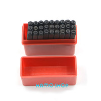 Wholesale mm New Die Letter from A to Z Steel Stamp Punch set ALPHABET Jewelers Set Choice