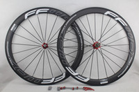 Wholesale Cycling Clincher - FFWD fast forward F5R carbon bicycle wheels 50mm basalt brake surface clincher tubular road cycling bike wheelset novatec Hub width 25mm