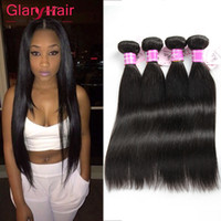 Cheap Unprocessed Brazilian Remy Hair Weaving Seda peruana Straight Hair Bangs Black Peruvian Virgin Hair Extension Factory Preço de atacado
