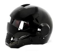 Wholesale Helmet Motorcycle Vespa - MS Brand 610 Atomic-Man Motorcycle Bike Vespa Scooter Motogp DOT Approved Helmet Black