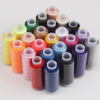 Wholesale Wholesale Sewing Machine Thread - Hot sell new 10 pieces lot soft cotton sewing thread hilos de coser High strength hand knitting machine embroidery thread,Z4703