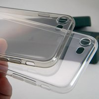 Wholesale Flexible Material - High Clear Transparent Case for iPhone 7 and Plus 0.5mm thick Grade AAA soft TPU material good flexible