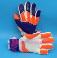 Wholesale Keeper Plains - 2017 New man soccer gloves without fingersave Professional goalkeeper gloves Goal keeper Gloves Soccer Goalie Soccer