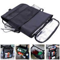 Wholesale Pocket Organiser - Auto Care Car Seat Organizer Holder Bag Multi Pocket Arrangement Bag Back Seat Chair Car Styling Car Seat Cover Organiser CDE_003