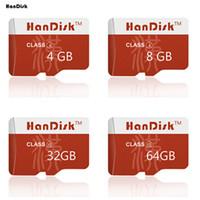 микро-качество оптовых-HanDisk Хорошая Цена Карта Micro SD 2 ГБ 4 ГБ 8 ГБ 16 ГБ 32 ГБ 64 ГБ 128 ГБ Micro SD SDXC TF Карта Один Год Замена CE FCC сертификация Качество