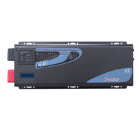 Wholesale Inverter Frequency Converter - Low Frequency Car Battery Charging Power Inverter Converter 12V 230V 2000W with AC  Solar Priority, 6000W Surge Power