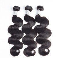 Wholesale lummy resale online - LUMMY Unprocessed Brazilian Body Wave Virgin Hair Weft Human Hair Peruvian Indian Malaysian Hair Extensions Double Weft Natural Black