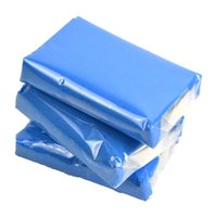Wholesale auto clay bar - Wholesale- 3pcs Auto Shine Magic Blue Clay Bar for Auto Detailing Cleaner & Car Washer 100g