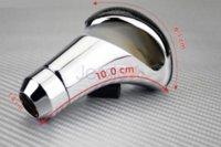 Wholesale Shift Lever Knobs - Car Shift Knob BLACK Carbon Fiber look shift knob manual modified universal gear stick head metal shift lever Free shipping