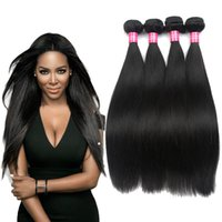 Pelo Peruano Teñido Baratos-Peruvian Straight Rosa Productos para el Cabello Virgen Peruvian Hair Wave Bundles Color Natural Dyed Peruvian Straight Virgin Hair Charming Queen