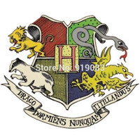 Wholesale iron harry potter patch - HOT Fantastic Beasts and Where to Find Them patch TV Movie Series harry potter applique iron on badge collector For Cap Sweater