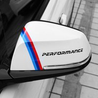 Wholesale rearview car mirror decal - Car Styling Rearview Mirror Vinyl Decal Stickers Exterior Accessories For BMW 1 2 3 5 series E90 E46 E39 F20 F10 F30 X1X3X5