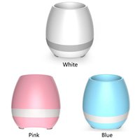 Wholesale Musical Nursery - Plastic shell musical music bluetooth speaker flower pot decoration planter speakers nursery pots for home office decoration MOQ:30PCS