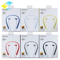 Wholesale Earphones Iphone Beautiful - Selling Hanging ear stereo Portable earphone Sport Bluetooth headset MS-750A hight quality Beautiful and durable for sony iphone samsung